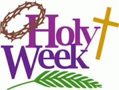 Holy Week and Easter Services 2017