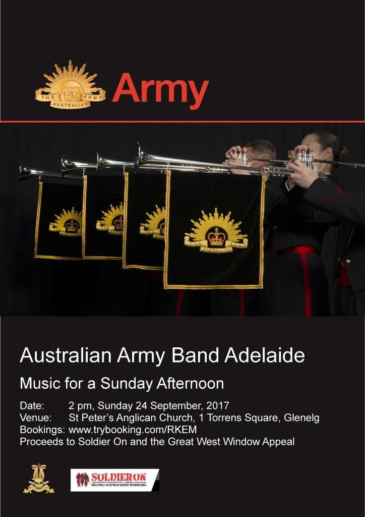 army band poster aug 2017
