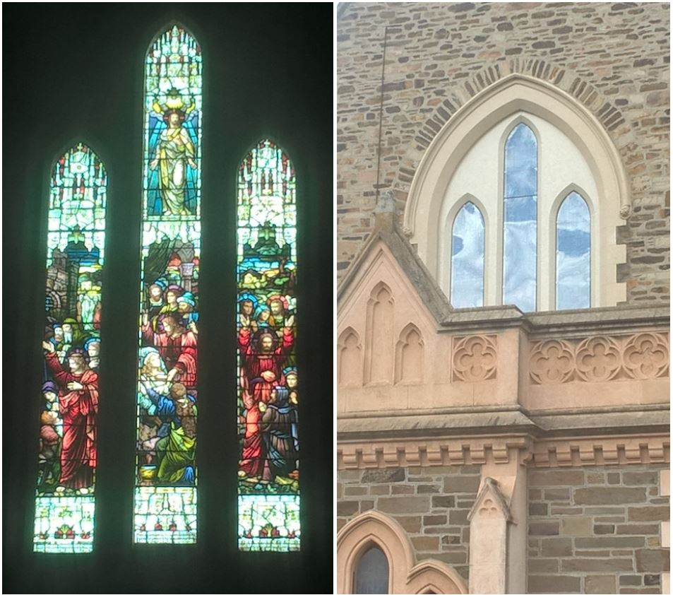 Western window completion