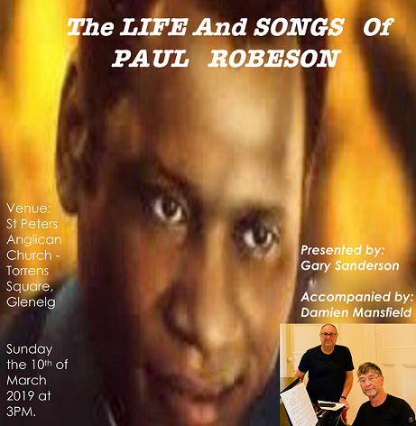Life and Songs of Paul Robeson