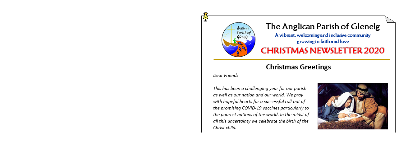 Christmas 2020  Newsletter is out NOW